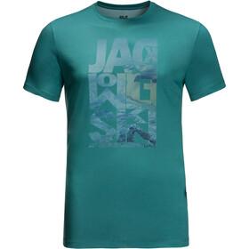 Jack Wolfskin Atlantic Ocean T-shirt Homme, emerald green